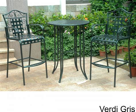 wrought iron pub table wrought iron pub tables gallery bar height dining table set