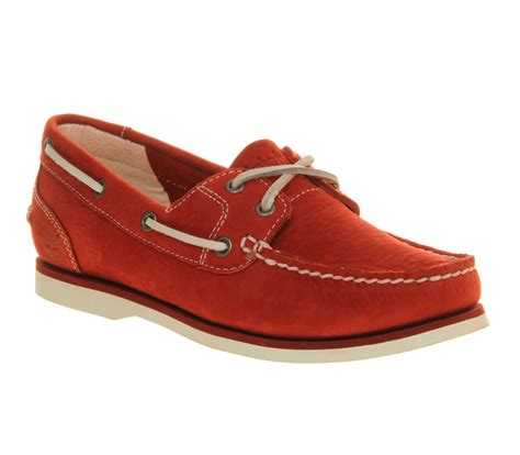 red boat shoes womens timberland womens boat shoe classic dark red flats