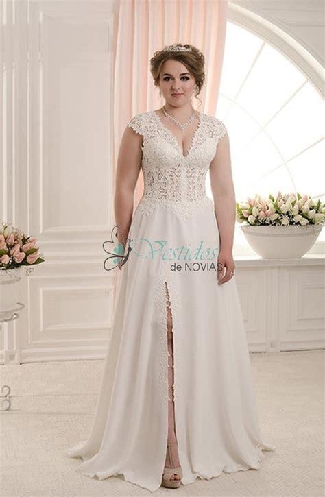 imagenes vestidos de novia escote v verena elegantisimo vestido de novia para gorditas de