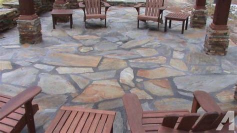 river rock and tennessee flagstone on pallets for sale in north augusta south carolina