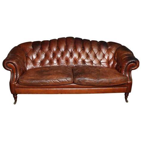 edwardian sofa edwardian leather sofa for sale at 1stdibs