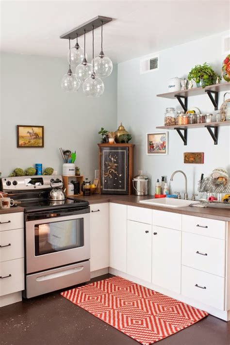 Small Kitchen Chandeliers Tiny Colorful Kitchens Small Kitchens