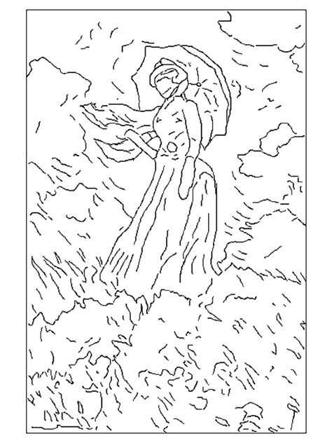 Free Coloring Pages Of Famous Art Artist Coloring Pages