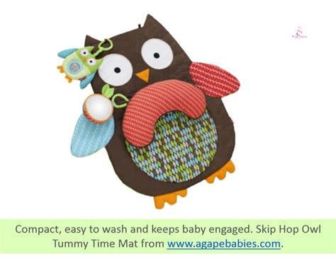 Skip Hop Tummy Time Mat by A Complete Guide To Playtime With Your Baby 0 3months