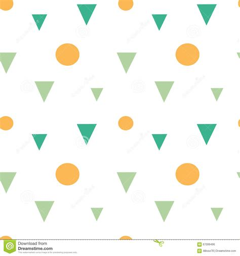 geometric background circles seamless pattern vector stock abstract colorful geometric shapes triangles and circles