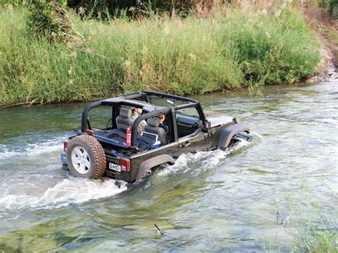 Water Jeep Rubicon4wheeler Jeep Wrangler Water Fording