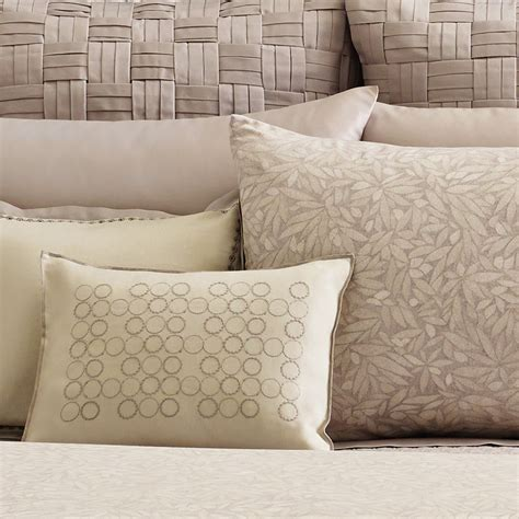 vera wang bedding vera wang bamboo leaves duvet set from beddingstyle com