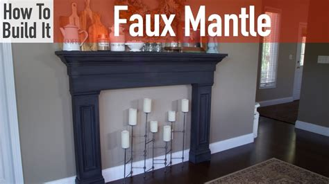 how to make a fireplace hearth how to build a faux mantel