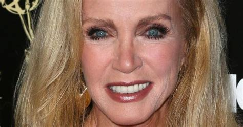 photos of donna mills curly frosted hairstyle from the 89s gorgeous hairstyles for older women donna mills