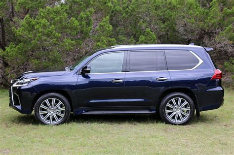 navy blue lexus 2016 lexus lx 570 test drive review autonation drive