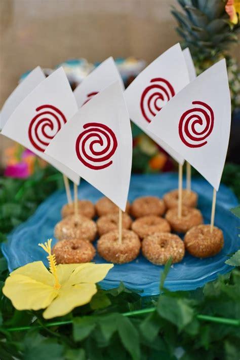 love boat theme party food 27 disney moana birthday party ideas pretty my party