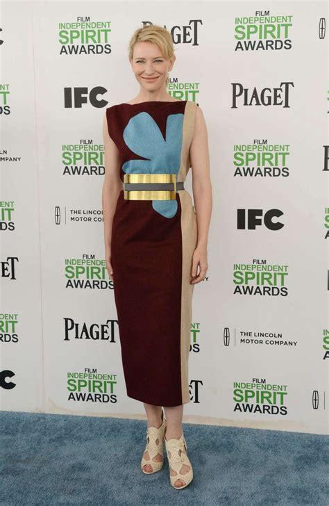 Independent Spirit Awards Cate Blanchett by Cate Blanchett 2014 Independent Spirit Awards 08