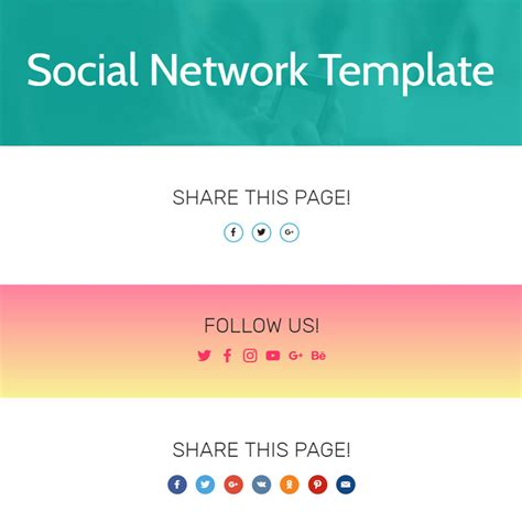social networking templates free bootstrap 4 template 2017
