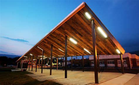 architecture of markets va tech architecture students complete prefabricated