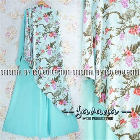 Hotlist Terlaris Gamis Syari Murah Mint Cantik Terbaru Modis baju muslim jersey savana syari grosir gamis syar i
