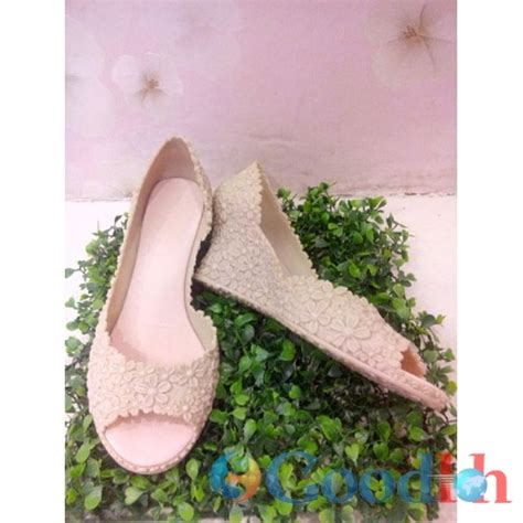 sepatu sandal jelly korea size 37