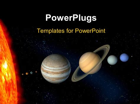Powerpoint Template Planets And Sun With Other Planets From Our Solar System 26746 Solar System Powerpoint Template