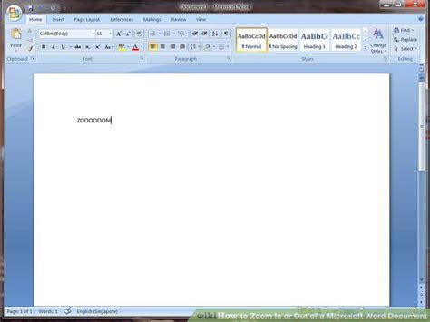Word Document Image