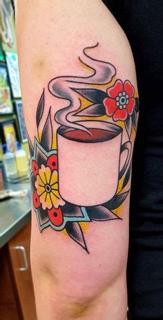 main street tattoo jacksonville ar traditional cup of coffee done by zema sure you