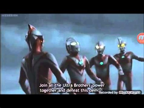 film ultraman mebius and ultra brothers ultraman mebius and ultra brother last fight part1 youtube