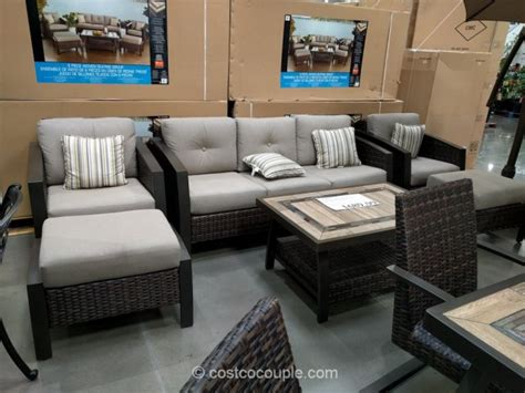 agio patio furniture costco agio international 6 seating set