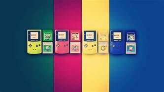 gaming in color gameboy wallpapers wallpaper cave