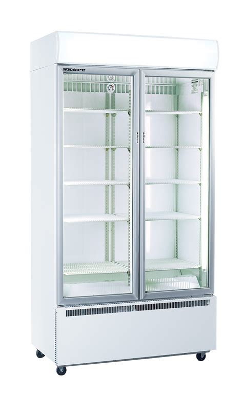 Upright Fridges Glass Door Display Refrigerator