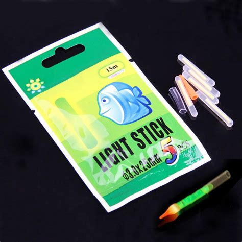 Dagezi Kail Pancing Luminous Glow In The Fishing Hook 30pcs glow stick pancing fluorescent float 5 pcs jakartanotebook