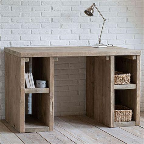 scrivanie di legno scrivania legno naturale etnico outlet mobili etnici