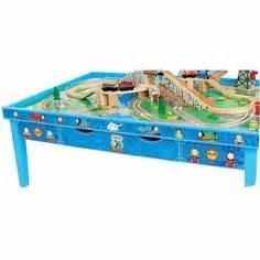 battat rectangular table with set with kiddos