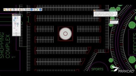 parking layout design software parking lot design and layout software parkcad youtube