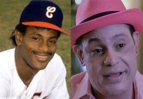 sammy sosa skin color fans react to sammy sosa s pink complexion transition