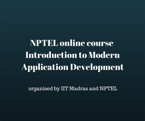 php tutorial nptel nptel online certification news events