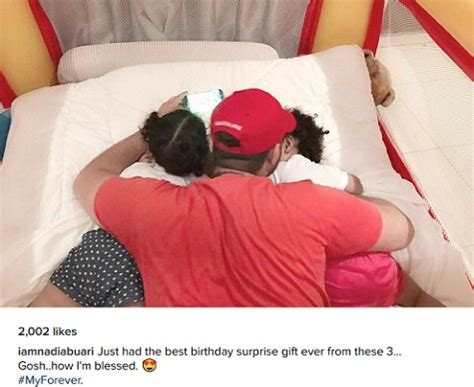 nadia buari and her twins nadia buari shares first picture of her baby daddy