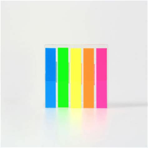 Sticky Memo Page Marker book reminding page marker adhesive sticky note plastic