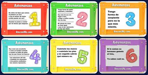 imagenes educativas adivinanzas las adivinanzas de los n 218 meros imagenes educativas