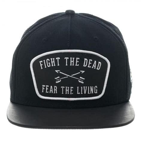 Topi Snapback The Walking Dead 1 the walking dead leather patch snapback baseball cap ooh