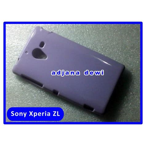Sony Xperia C Soft Casing Cover Bumper Sarung Armor Transparant jual sony xperia zl l35h c6502 c6503 c6506 silikon soft jelly cover ungu di lapak agen at