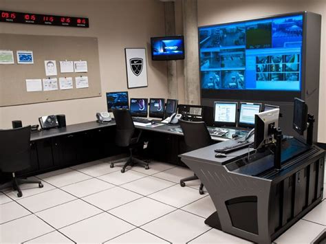 room security surveillance room consoles security racks winsted