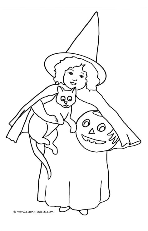 witch head coloring page halloween coloring pages