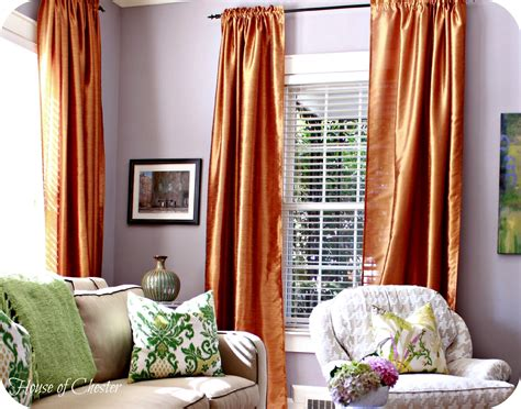 how to decorate curtains house of chester living room progress