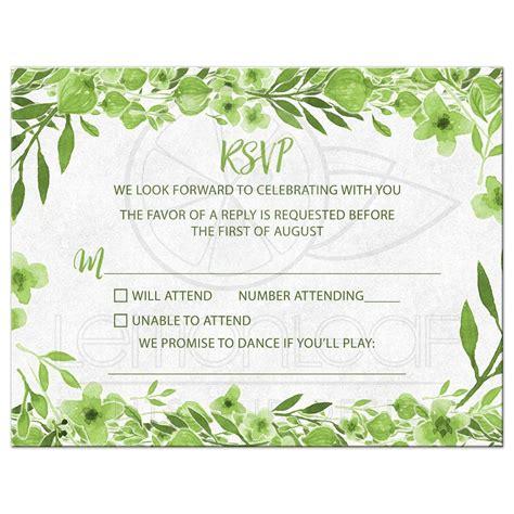printable wedding invitation set modern botanical wedding
