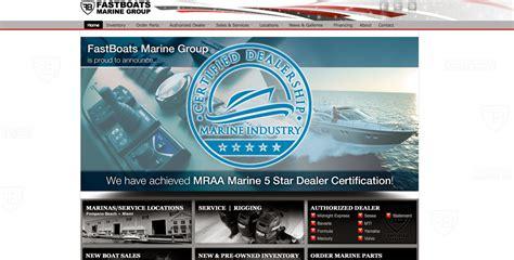 fastboats marine group web portfolio