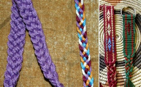 tutorial 5 strand flat braid backstrap weaving