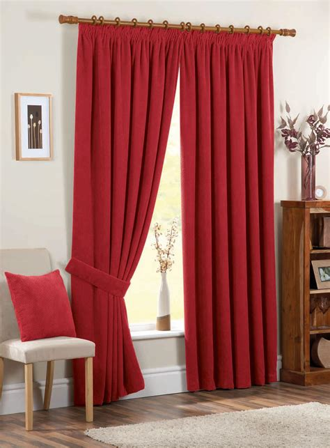 where can i buy ready made curtains chenille spot ready made curtains red free uk delivery