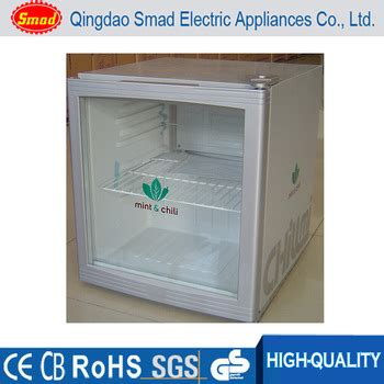 Freezer Mini Kaca smad mini bar refrigerator mini promotional fridge glass