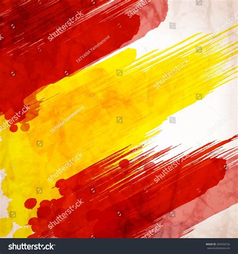 layout artist in spanish template background spanish flag made of colorful