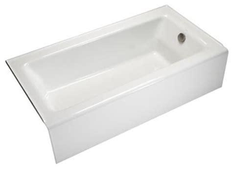 kohler bellwether bathtub kohler k 876 0 bellwether bath with integral apron and right hand drain white