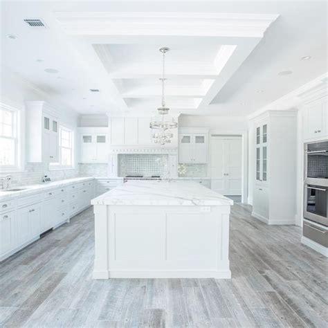 grey kitchen floor ideas white kitchen with light gray wood floor new designs ideas