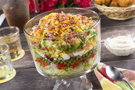 How To Bring Salad To A Potluck by Icebox Salad Mrfood